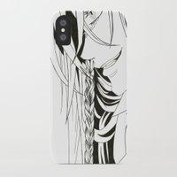 kuroshitsuji iPhone & iPod Cases featuring Kuroshitsuji Undertaker by Reira Hoshikuzu