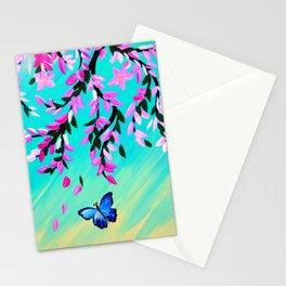 Butterfly Vertical Print Stationery Cards