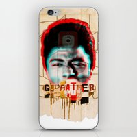 godfather iPhone & iPod Skins featuring Godfather by Marko Köppe