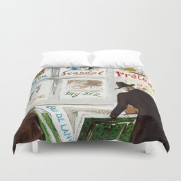 The Art Collector Duvet Cover