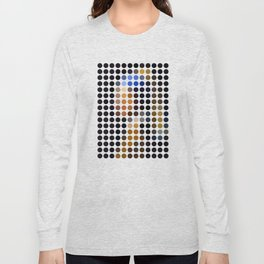 Girl with a Pearl Earring remixed (2009) Long Sleeve T-shirt