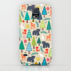 summer woodland Galaxy S5 Slim Case