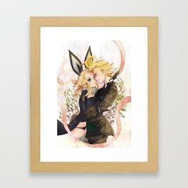 Edea and Ringabel  Framed Art Print