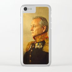 Bill Murray - replaceface Clear iPhone Case