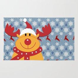 Rudolph and Christmas Cheer Rug