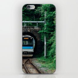 Tunnel Train iPhone Skin