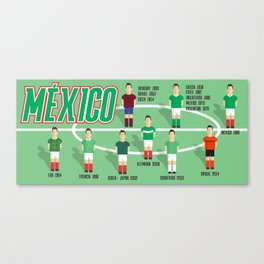el tri true time Canvas Print