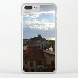Historic Scalea In Calabria Clear iPhone Case