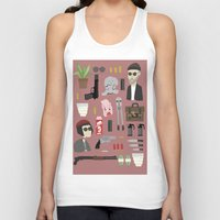 leon Tank Tops featuring Leon  by Max the Kid