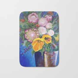 A Vase of Flowers Can Be a Willful Act of Resistance Bath Mat