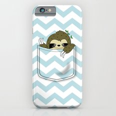 sloth in my pocket iPhone 6s Slim Case