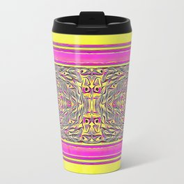 Inspired by my Peacock. Travel Mug