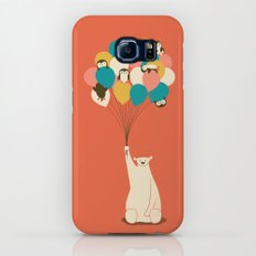Penguin Bouquet Galaxy S7 Slim Case