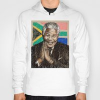 mandela Hoodies featuring MANDELA by Stan Kwong