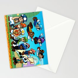 Super Mongoose Bros. Stationery Cards