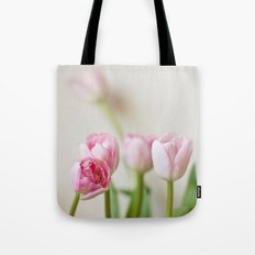 Soft tulips Tote Bag