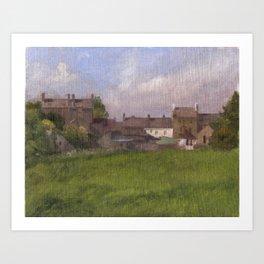 Dunkineely, Ireland Art Print