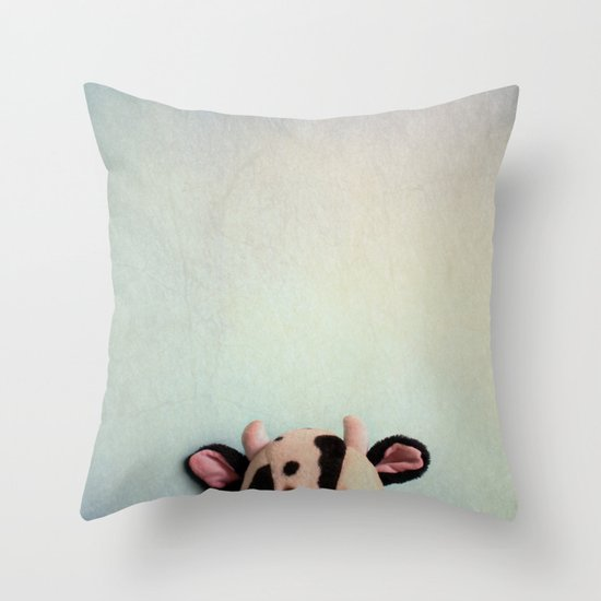 Childhood III Throw Pillow