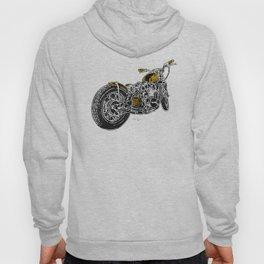 """""""Rootbeer Bobber"""" Custom Motorcycle Hoody"""