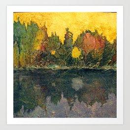 Pause and Reflect III Art Print