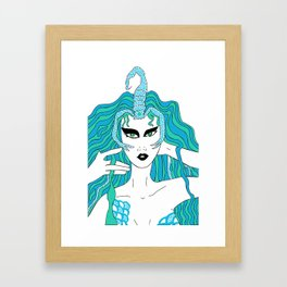 Scorpio / 12 Signs of the Zodiac Framed Art Print