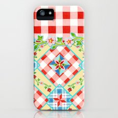 Cottage Chic Gingham II Slim Case iPhone (5, 5s)