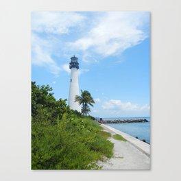 Miami Lighthouse Canvas Print