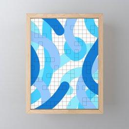 Abstract Admix I Framed Mini Art Print