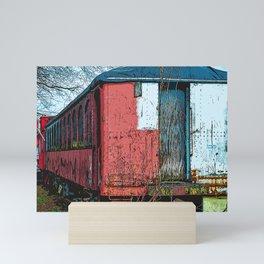 Old Train Mini Art Print