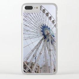 La Grande Roue de Marseille Clear iPhone Case