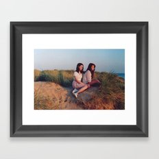 this side of paradise  Framed Art Print