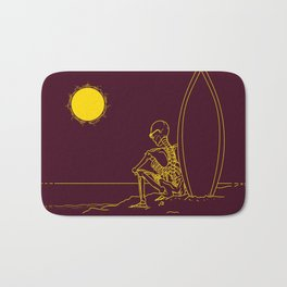 No waves, just waiting and relax (forever)... Bath Mat