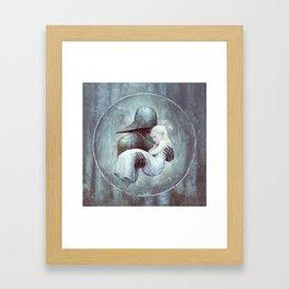 I'll Protect You Framed Art Print