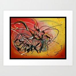 El Veronica Numero Dos Art Print