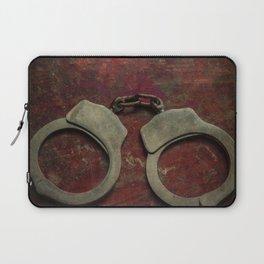 Rusty handcuffs Laptop Sleeve