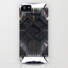 Under Eiffel HDR iPhone Case