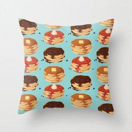 Pancake Sunday Throw Pillow