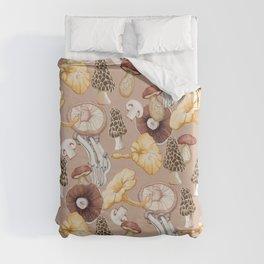 Mushroom Lovers Pattern Duvet Cover