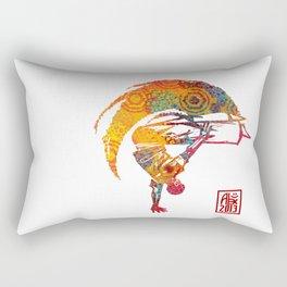 Capoeira 527 Rectangular Pillow