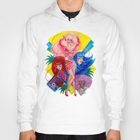jem Hoodies featuring Jem and the Holograms by Megan Mars