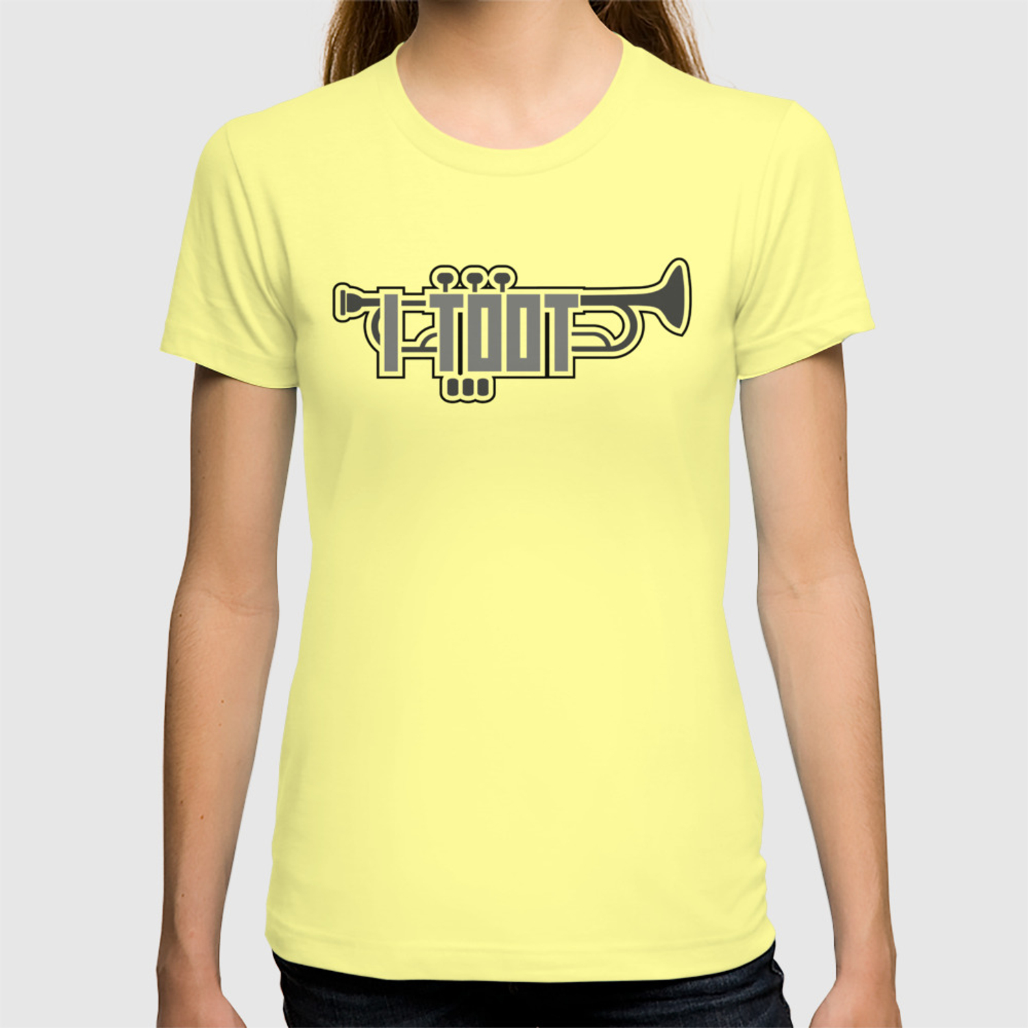 76788a34 Funny Trumpet Player Gift for Trumpeters, Musicians and Instrument Players  T-shirt by martinos74 | Society6