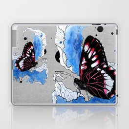 Butterfly III ink by carographic, Carolyn Mielke Laptop & iPad Skin