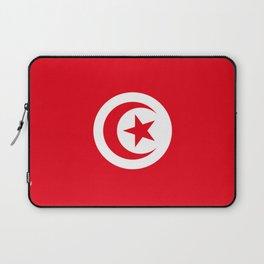flag of tunisia -tunisie, tunisian,tunis,Maghreb. Laptop Sleeve