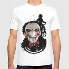 Billy The Puppet: Monster Madness Series Mens Fitted Tee White MEDIUM