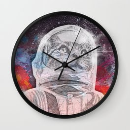 Space_Cat Wall Clock