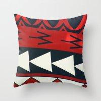 new zealand Throw Pillows featuring NEW ZEALAND by K. Ybarra/FotoHAUS