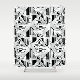 Warp Factor 2 Shower Curtain
