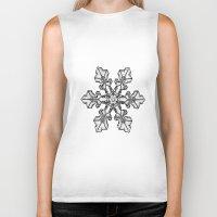snow Biker Tanks featuring Snow by ArtSchool