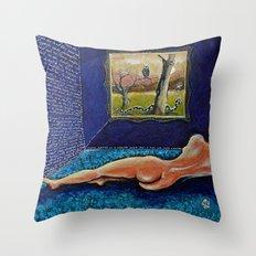 Homage to Velasquez Throw Pillow