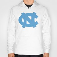 north carolina Hoodies featuring NCAA - North Carolina Tarheels by Katieb1013